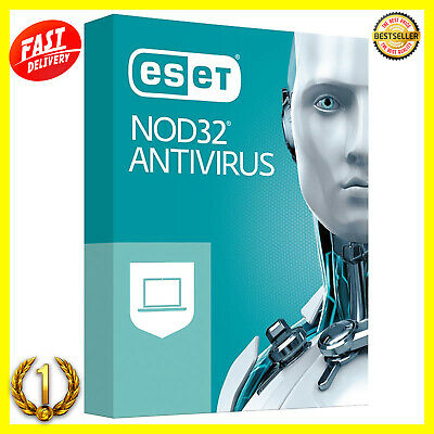🔥 ESET NOD32 Antivirus 2019 • Licenza fino al 2022, 5 PC Product Key 3 Years 🔥