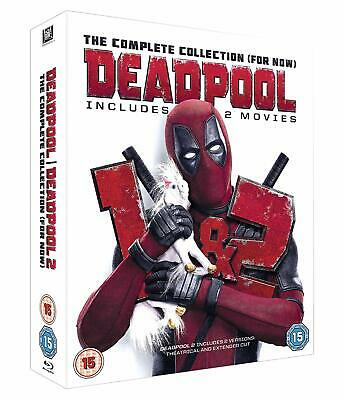 Deadpool : The Complete Collection (2 Disc Blu-ray Set) Movies 1 & 2 New Sealed