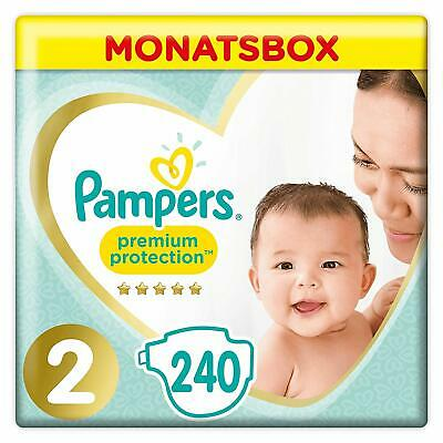 Pampers Premium Protection New Baby, Gr. 2, 4-8 kg, Monatsbox, 1er Pack (1 x...