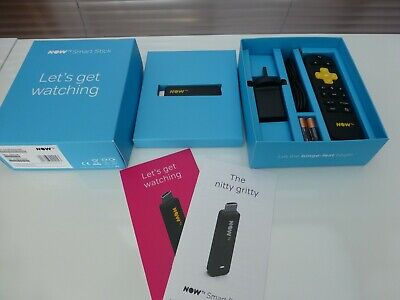 NOW TV Smart Stick with HD & Voice Search - Brand New