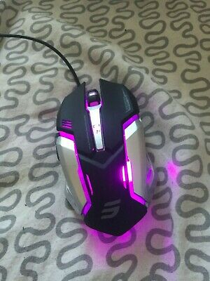 3c84d3d3054 LINGYI Gaming mouse, 6 Programmable Buttons, 4 Adjustable DPI Levels, 4  Circular