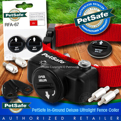PetSafe PUL-275 Collar Bundle Dog Receiver for In-Ground Fence Deluxe UltraLight