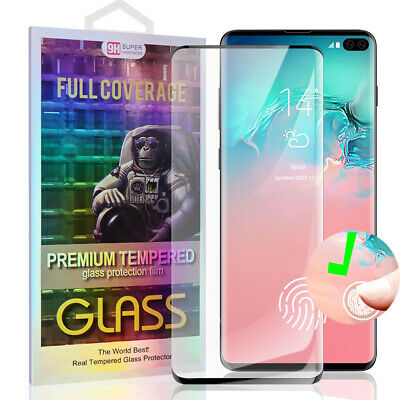Full Curved 5D Tempered Glass Screen Protector For Samsung Galaxy S8 - Clear