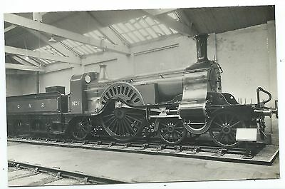 GREAT NORTHERN RAILWAY - GNR STEAM LOCO no.1  Real Photo Postcard