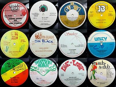 """JOB LOT#2 Vinyl Record Collection 100 x EP 12"""" Reggae Dub Roots Ska SEE PICTURES"""