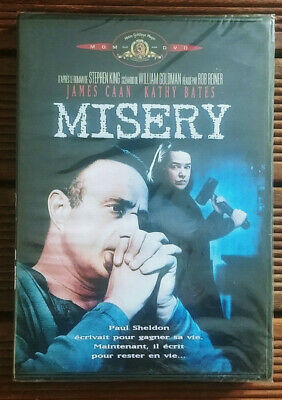 DVD Neuf S/Blister -Misery- stephen King-1990-Rob Reiner-Kathy Bates-James Caan