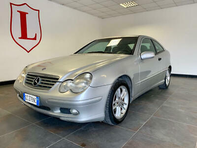 Mercedes-benz c 220 diesel*sportcoupe*full option garanzia 12 permute