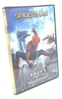 Spider-Man: Homecoming (DVD, 2017) NEW Marvel  💯 Authentic