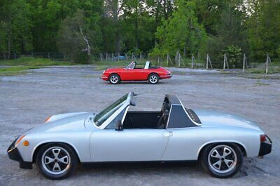 1976 Porsche 914 2.0  EXTREMELY STRONG SOLID DRIVING 2.0 SILVER LAST YEAR 914