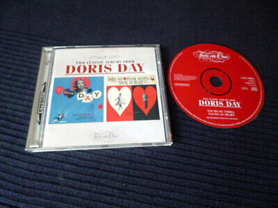 CD Doris Day TWO CLASSICS You're My Thrill & Young At Heart Two On One SINATRA