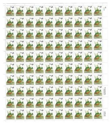Us Scott 2481 Pane Of 100 Sunfish Stamps 45 Cent Face Mnh
