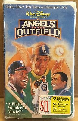 """Walt Disney """"Angels In The Outfield"""" VHS Factory Sealed 1994"""