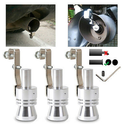 Universal Car Curved Exhaust Muffler/Resonator Tail Pipe Tailpipe Sound Maker