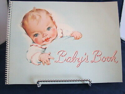 1949 Metropolitan Life Insur. Co. Baby Book Never Used