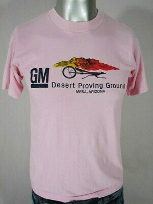 HC0312 COOL VINTAGE 1970s **GM DESERT PROVING GROUNDS** INDIE T-SHIRT - 35