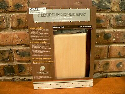 Walnut Hollow Creative Woodburning Craft Kit #28371~New in Sealed Package