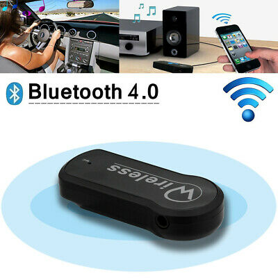 3.5mm Wireless USB Mini Bluetooth Aux Stereo Audio Music Car Adapter Receiver HF