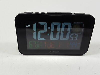 La Crosse Technology 617-1485B Atomic Color Alarm Clock
