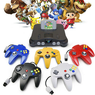 New Classic N64 Game Controller Gamepad Joystick for Nintendo N64 System Console