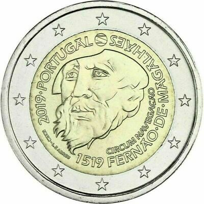 2€ conmemorativos s/c Portugal 2019 Magallanes.Ya disponibles