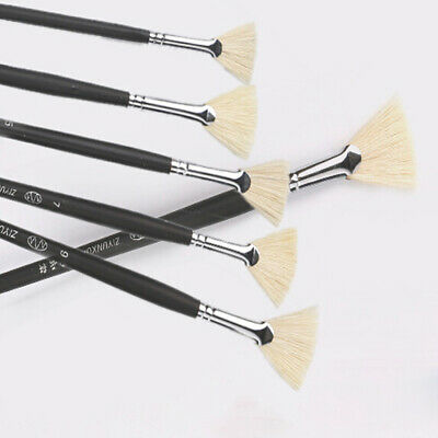 Oil Watercolour Artist Paint Brushes Set Painting Drawing DIY Craft Brush LC