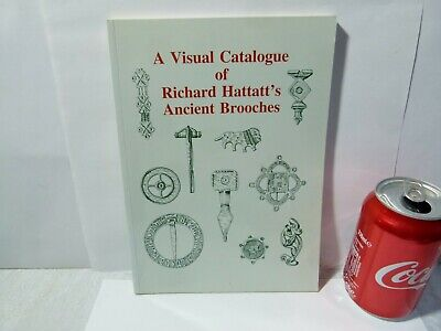 Visual Cat RICHARD HATTATT'S ANCIENT BROOCHES Metal Detecting Reference Book