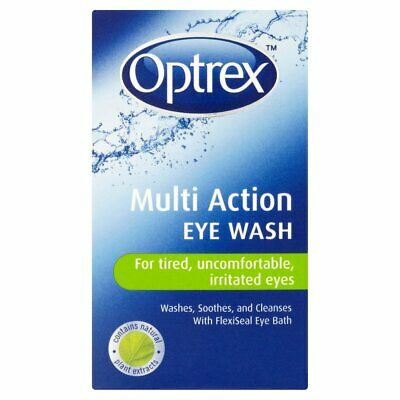 Optrex Multi Action Eye Wash for Tired Uncomfortable Irritated Eyes - 100ml