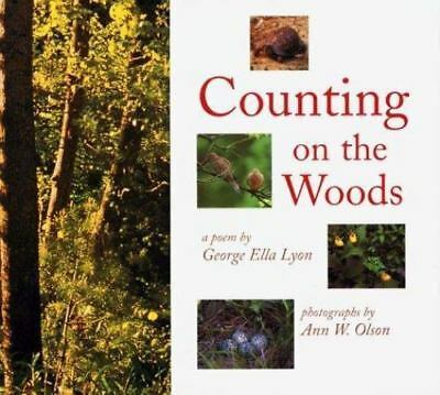 Counting on the Woods DK Publishing Paperback Collectible - Good