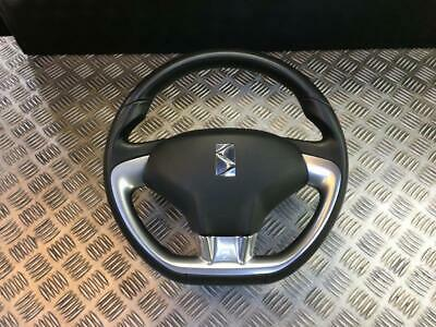 10-18 Citroen Ds3 Leather Steering Wheel With Airbag