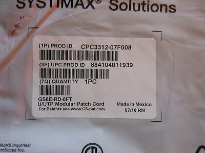 New Commscope Systimax 360 Gigaspeed XL 1100G53 Evolve Category 24 Port