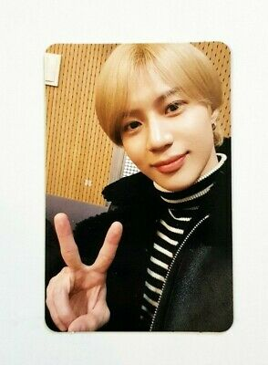 """K-POP SHINEE Taemin Official 2019 2nd Solo Concert """"T1001101 Special Photocard"""