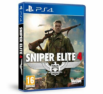 Sniper Elite 4 (PS4)  NEW AND SEALED - IN STOCK - QUICK DISPATCH - FREE UK POST