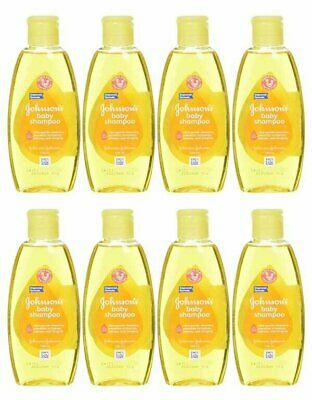 Johnson & Johnson Baby Shampoo 100 Ml (3.5 Oz) (8 Pack)