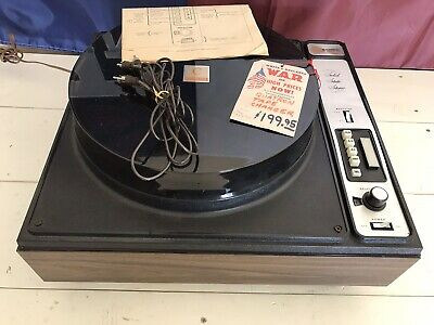 Vintage QATRON STEREO 48H Eight 8 Track Changer Player SUPER RARE