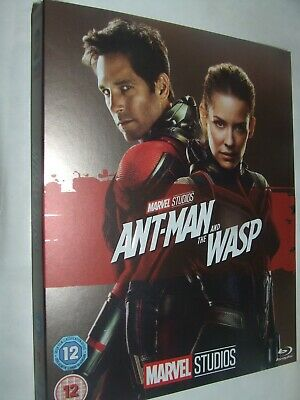 Ant-Man and the Wasp  BLU RAY NEW & SEALED with Phase 3 sleeve MARVEL