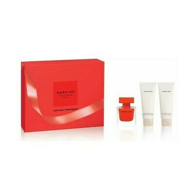 Parfumset voor Dames Narciso Rouge Narciso Rodriguez (3 pcs)