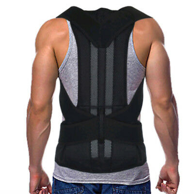 Men Women Shoulder Back Support Posture Corrector Belt Band Brace Unique