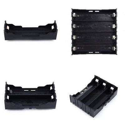 1/2/3/4 Li-ion 18650 3.7V Battery with Pin ABS Storage Box Holder Case high