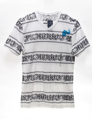 AMERICAN RAG $13 NEW 3040 Bike Track Striped Tee Mens T-Shirt Top S