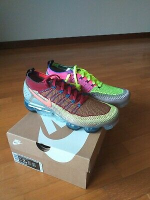 Nike Air Vapormax Flyknit 2 Random What The   Size 12 Mens 100% Authentic DS
