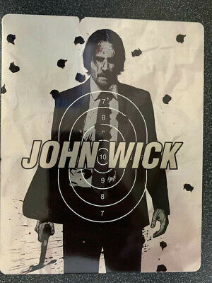 John Wick 1 Steelbook BLU-RAY ONLY+Case No DVD/Digital SAVE$$$ Combine Shipping