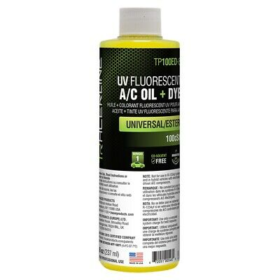 8 oz (237 ml) bottle universal/ester A/C oil Tracer Products TP100ED-8