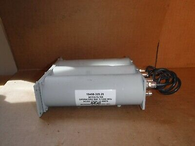 Microwave Filter 19458-325-25 Notch Filter Operating Bw 5-1250 Mhz Ac/Dc Pass 2A