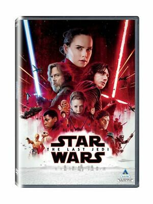 Star Wars Episode VIII The Last Jedi DVD - BRAND NEW!  FREE SHIP!
