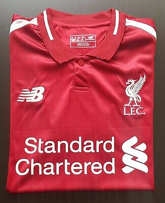 Liverpool home shirt 2018/19. Size L number 4