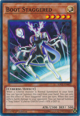3x (M/NM) Boot Staggered - SDCL-EN007 - Common - 1st Edition  YuGiOh