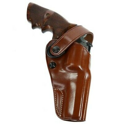 Galco Gunleather DAO (Dual Action Outdoorsman) Belt Holster w/Retention Strap