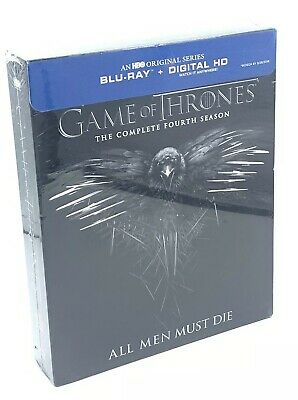 Game of Thrones: The Complete 4th Season (Blu-ray+Digital HD, 2015; 4-Disc Set)