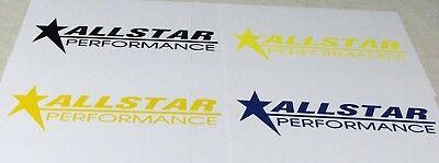 Lot Of (2) Die-Cut All Star Performance Racing Products Racing Decals Stickers