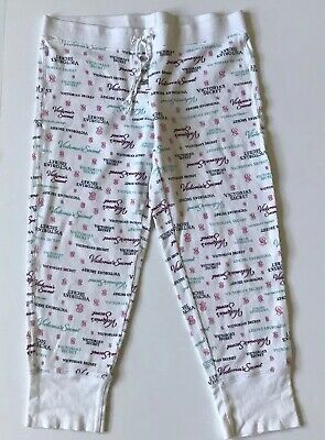 880534c930257 VICTORIA SECRET PINK Pajama Pants Size S Small Bow Gift Thermal ...